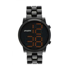 Digital and sample - Phosphor Watch
