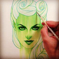 Drawings by Glenn Arthur