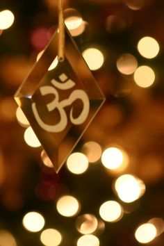 om - reminds me of christmas and summer lights, dancing, love, being with friends and family.