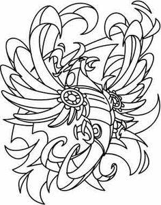 Steampunk Phoenix design (UTH3597) from UrbanThreads.com 20 May 2013