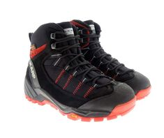 S-KARP Explorer RS, Black/Red - Shoes, Trekking Shoes, Hiking Shoes Trekking Shoes, Hiking Shoes, Red Shoes, Urban, Boots, Casual, Black, Fashion, Red Dress Shoes