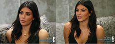 Imagem de beauty, cabelo, and kim kardashian  #kimkardashian #makeup #maquigem #inspiração #hair #brunette #darkhair