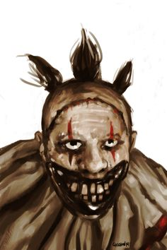 Twisty ~ AHS: Freak Show  (V. His death... it was just not fair.. Don't u agree?! It's always the others! It's always them, who drive us crazy.. Not as much as him, but still ... I know he was mad, but still.. he didn't deserve it..)