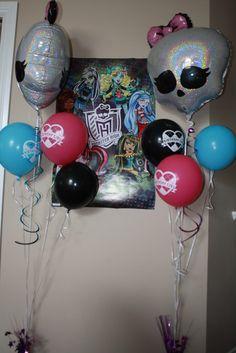 Aryana's Monster High Birthday party Ideas