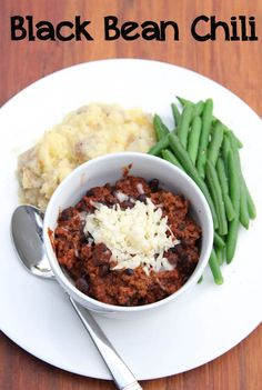 Black Bean Chili Recipe  ~ part of our 21 Gluten Free Freezer Cooking Meals from Costco | 5DollarDinners.com