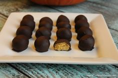 sugar free low carb pumpkin chocolate truffles
