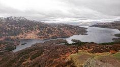 What a view!  Climbing the Ben A'an to see mesmerising Loch Katrine. #brilliantmoments #benaan #lochkatrine #Scotland #Loch #lochlomond #Trossachs #Callander #igersedinburgh #igersuk #igersscots #insta_scotland #mountain #Scottish #landscape http://ift.tt/1RcFYwm