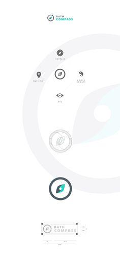 Bath Compass | Branding on Behance