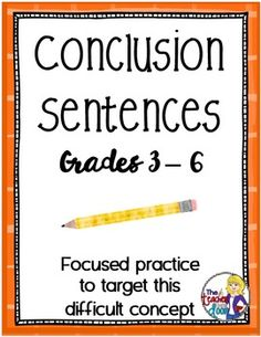 Need Help With A Conclusion Paragraph Quick?