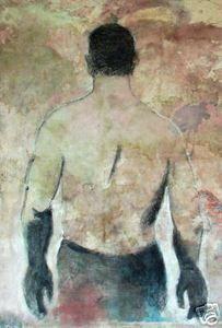 Ignacio Burgos - Espalda - Original Signed Painting