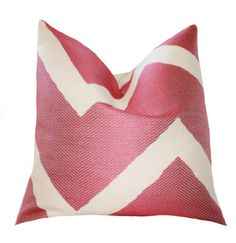 *Front Fabric: Heavy Satin Jacquard Cool Pink Raspberry Fuchsia and Off White Fabric  *Back Fabric: Off White Linen Fabric    *This listing is for