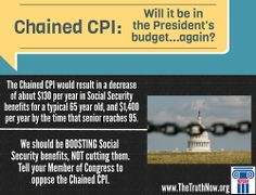 Will the Chained CPI (#SocialSecurity benefit cut) be in the President's budget again?