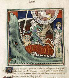 Apocalypse (The 'Queen Mary Apocalypse'), England 14th century.