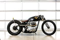 The feature of the day a '1965 BSA Lightning' was a winner of the freestyle class at the Ultimate Builder Custom Bike show in Cleveland.