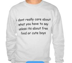 """""""I Don't Really Care."""" 