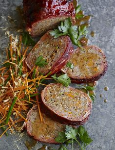 Pete Evans Meatloaf - looks delicious.  Definitely giving this one a try! (Pete Evans Paleo Recipes)