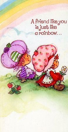 My Childhood memory.  I love Strawberry shortcake and her friends.