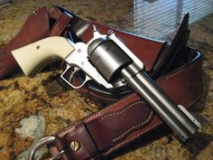 This will work for sure and it is rdh approved. Ruger Super Blackhawk .44 Magnum