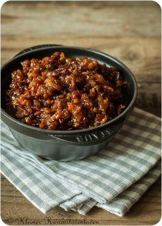 Bacon Jam ~ Bacon Jam – Famous Last Words Food Menu, A Food, Food And Drink, Chutneys, Healthy Eating Tips, Healthy Nutrition, Bacon Marmalade, Kneading Dough, Bacon Jam