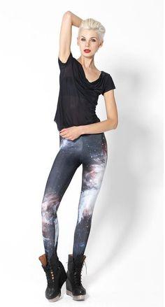 3154607aa52427 Egyptian Print Leggings Galaxy Tights