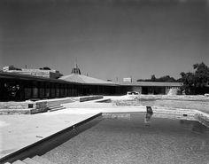 John Gillin Residence. Dallas, Texas. Frank Lloyd Wright. 1958. Usonian