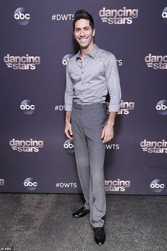 Dancing shoes: TV personality and Catfish host Nev Schulman, 36, rounded out the four finalists Nev Schulman, Dancing With The Stars, Seasons, Dance, Dancing, Seasons Of The Year