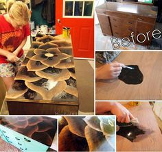 How To Use Stain To Make Amazing Furniture Art