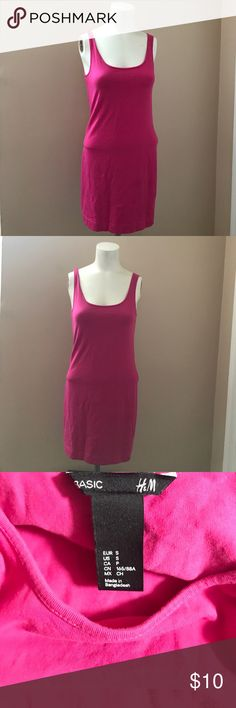 """H&M Bodycon Dress Gently worn, good condition. Form fitting. Light weight cotton with a lot of stretch. Length shoulder to hem is 31"""". H&M Dresses Mini"""