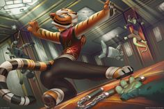 See more 'Kung Fu Panda' images on Know Your Meme! Kung Fu Panda Desenho, Tigress Kung Fu Panda, Furry Pics, Furry Art, Dreamworks Animation, Disney And Dreamworks, Panda Images, Panda Wallpapers, Avengers