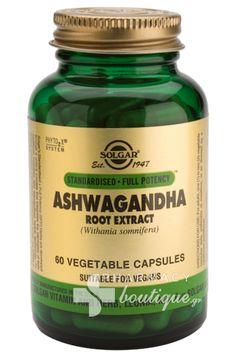 Solgar Solgar ASHWAGANDHA Root Extract - Άγχος / Στρες, 60 caps - pharmacyboutique.gr, online φαρμακείο, περιποίηση, προσφορές