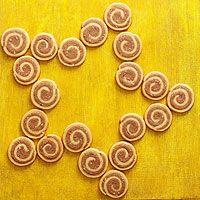 Brown Sugar-Hazelnut Spirals Recipe