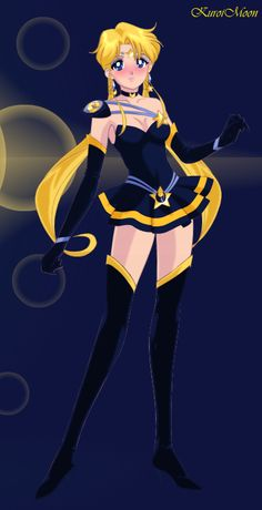 Sailor Moon and Seiya's doughter