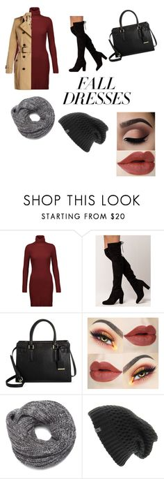 """""""Fall is here"""" by bbytorii ❤ liked on Polyvore featuring A.L.C., Delicious, Nine West, The North Face and Burberry"""