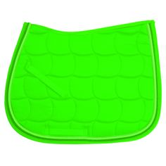 If I ever go back to english, I want this neon green saddle pad!