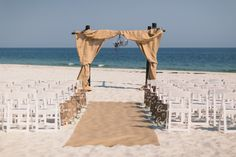 Rustic Beach Wedding In Gulf Ss Vacation Chic Blog