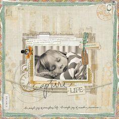 Capture Life - Digital Scrapbooking Ideas - DesignerDigitals
