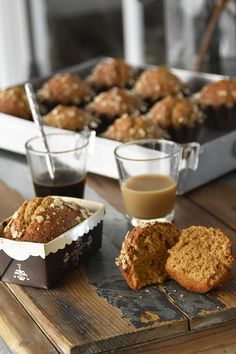 Sweet Recipes, Healthy Recipes, Profiteroles, Deli, Cupcakes, Muffins, Gluten Free, Sweets, Cooking