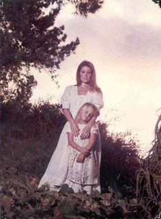 Rare Photo -  Priscilla and Lisa
