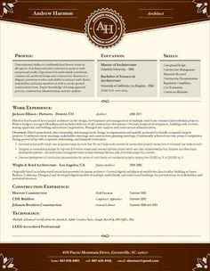 Resume, Resume ideas and Make your on Pinterest