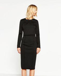 画像 2 の スリムフィットスカート ザラから