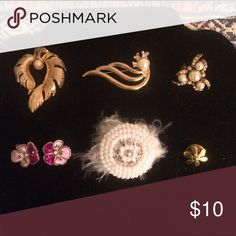 Brooches bundle 20 7 brooches / pins Jewelry Brooches