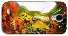 Golden Valley Galaxy S4 Case Printed with Fine Art spray painting image Golden Valley by Nandor Molnar (When you visit the Shop, change the orientation, background color and image size as you wish)