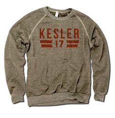 Ryan Kesler Officially Licensed NHLPA Anaheim Men's Crew Sweatshirt S-2XL Kesler Font O