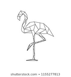 Geometric Bird, Geometric Drawing, Bird Drawings, Easy Drawings, Grilling Art, Online Coloring Pages, Art Lessons For Kids, Geometry Art, Seashell Art