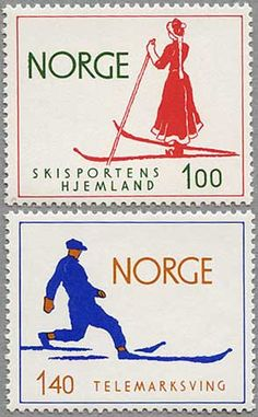 Norway   Postal stamps  1975