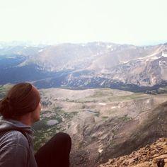 View from Longs Peak