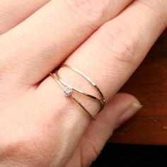 handmade and simple rings