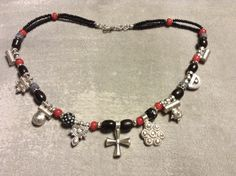 Coptic Cross, protective Telsums(charms),good silver, black and blue coral,Italian trade beads.Boho jewelry by on Etsy Cross Choker, Cross Necklaces, Boho Jewelry, Jewelery, Ethiopian Jewelry, Black Seed, Coral Blue, Necklace Types, Cross Pendant