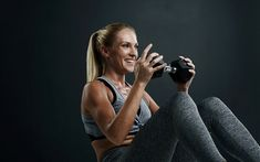 Fat-Blasting Full Body Dumbbell Workout at Home - Focus Fitness If you want to blast stubborn fat and build lean muscle using dumbbells, use this full body dumbbell workout you can do at home Full Body Dumbbell Workout, Body Workout At Home, Easy Workouts, At Home Workouts, Lower Body Muscles, Overhead Press, Shoulder Muscles, Fett, Stubborn Fat