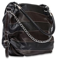 9010 Black & Espresso Concealed Carry Purse by 2AWoman
